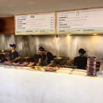 Order Counter and Cooks in the Pontoon Restaurant in Darling Harbor