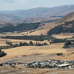 View from Mt Iron looking towards Cardrona Valley