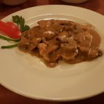 Incognito Restaurant (Chicken Breast with Mushroom Sauce)