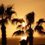 Atardecer en Torrox Costa que nada tiene que envidiar a California