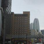 Sunroute Plaza hotel from Yoyogi station.