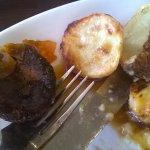 Yesterdays Roast Potatoes. Like granite.