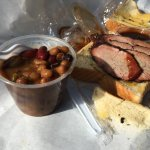 beans and brisket