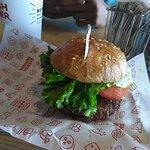 Delicious burger avocado club & BBQ bacon cheddar