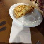 omelete achei oleoso