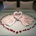 Honeymoon decor