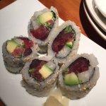 Tuna roll, very fresh, loved the jicama