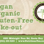 Serving only Vegan, only Organic, only Gluten-free!