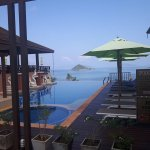 Infinity pool - Its not huge but the view is amazing!