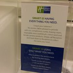 Smart is using only what you need! Love it!