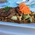 I had a delicious meal at the always delicious La Copa Llena