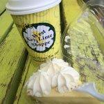 Key lime pie and lemonade, Key West, FL- Kermit's Key West Key Lime Shoppe