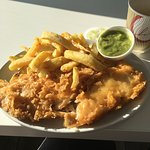 Travelled from Newquay to give them a try..Well worth it best Cod chips and mushy peas ever..Pot
