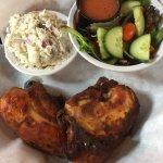 BBQ Chicken w/potato salad