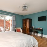 Room 1, Willow, ground floor accessible and dog friendly with private terrace
