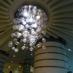 Decorative Light Fittings at Mall