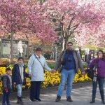 En el Parque Samn Pauli sus suntuosos y hermosos Jardines y variados arboles coloridos