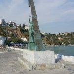 صورة فوتوغرافية لـ Pythagoras Statue