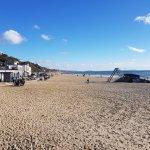 Beautiful beach Bournemouth February 2018