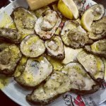 Garlic Butter Grilled Oysters