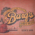Old Barg's Root Beer Sign