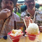 Breakwall Shave ice is ONO (good)!