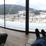 quiet room with view of Ortisei