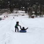 A short walk from the Squaw Village is a tubing hill that can be enjoyed by people of all ages.