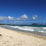 Kailua Beach looking toward Kaneohe