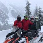 Swan Mountain Snowmobiling Foto