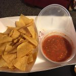 also have chips and our home made salsa.