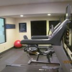 Fitness room.