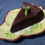 Deliciously rich chocolate cake