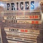 Mini Golf Prices
