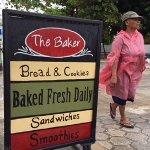 The Baker Outside Sign