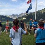 International Girl Scout ceremony
