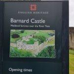 Barnard Castle English Heritage