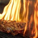 Steak vom Lavagrill