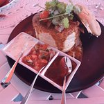 A bunny chow served Oyster box style