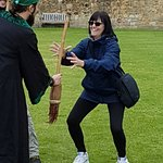 Learning to catch the Broomstick