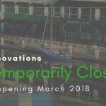 Temporary Closure for Renovations 2018