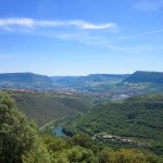 View over Millau