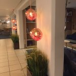 Great lamps in reception