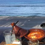 Breakfast on the beach!