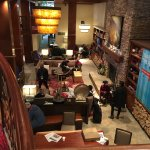 Cosy and charming lobby at Marriott Park City