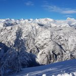 Breathtaking view from Mount Vogel