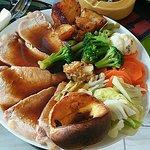 100 baht roasted pork