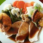 70 baht roasted pork