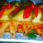 Bacalhau J.J Um dos principais pratos da casa. Criado pelo chefe Jaime Alves e sua irmã Janina.