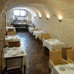 Dining area in cellar